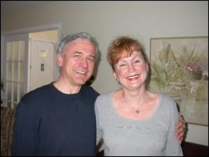 Normand Lévesque et Louise Mercier